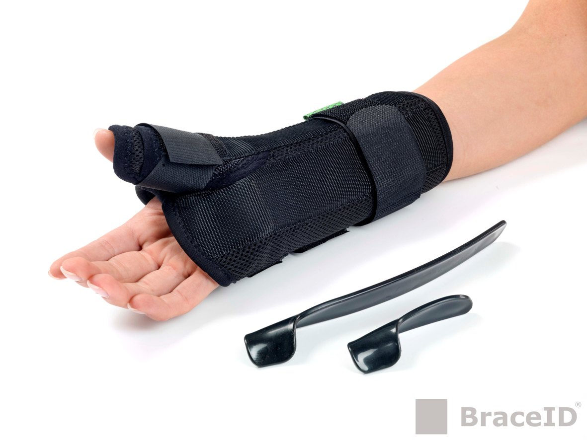 D-Ring Wrist-Thumb Brace Splints